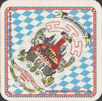 Pivní tácek museumsbrauerei-und--getrankehandel-steer-1-oboje-small