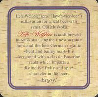 Beer coaster muskoka-2-zadek