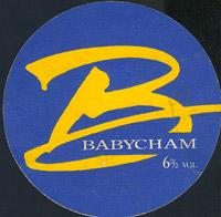 Pivní tácek n-babycham-1