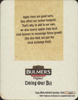 Pivní tácek n-bulmers-25-zadek-small