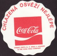 Beer coaster n-coca-cola-130-small