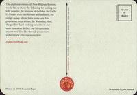 Pivní tácek new-belgium-10-zadek-small