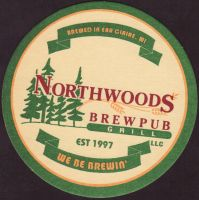 Beer coaster northwoods-brewpub-1-small