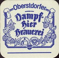 Pivní tácek oberstdorfer-dampfbierbrauerei-1-oboje-small
