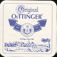 Pivní tácek oettinger-10