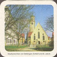 Pivní tácek oettinger-2-zadek