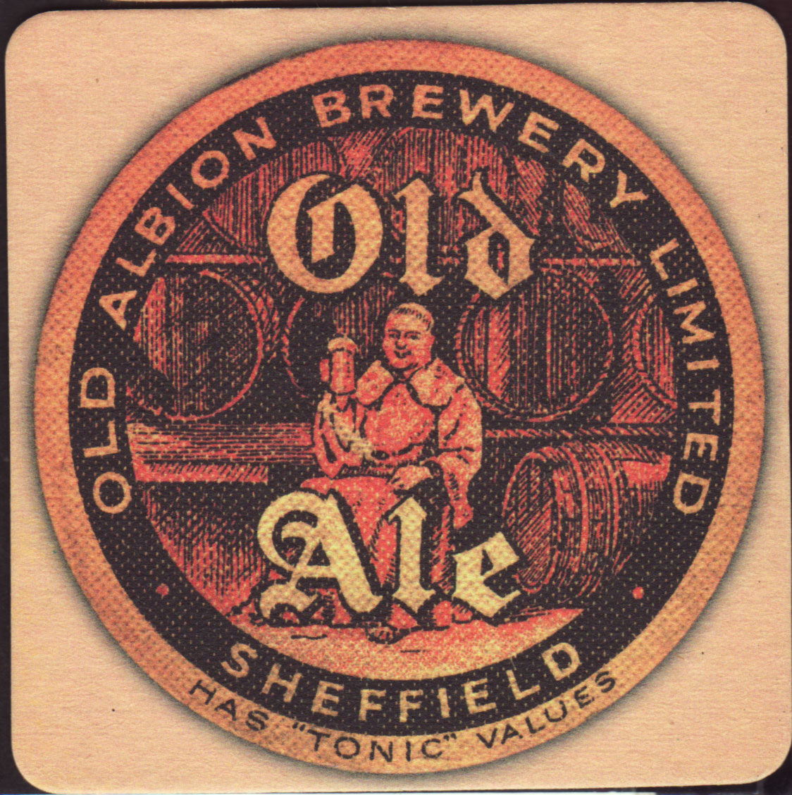 brewery old albion brewery sheffield coaster