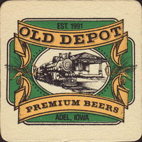 Beer coaster old-depot-1-small