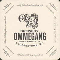 Beer coaster ommegang-2-small
