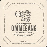 Beer coaster ommegang-3-small