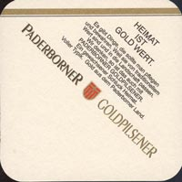 Beer coaster paderborner-vereins-1-zadek