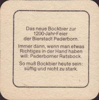 Beer coaster paderborner-vereins-18-zadek-small
