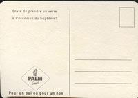 Beer coaster palm-14-zadek
