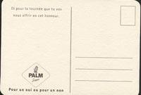 Beer coaster palm-15-zadek