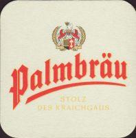 Beer coaster palmbrau-20-oboje