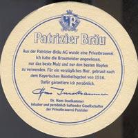Pivní tácek patrizier-brau-1-zadek
