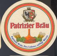 Pivní tácek patrizier-brau-1