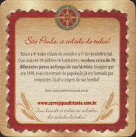 Beer coaster paulistania-1-zadek