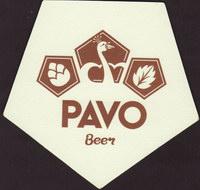 Pivní tácek pavo-1
