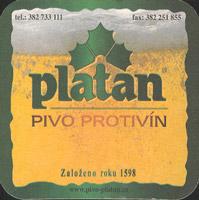 Pivní tácek platan-10
