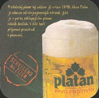 Pivní tácek platan-11-zadek