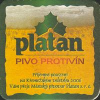 Pivní tácek platan-12