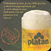 Pivní tácek platan-13-zadek