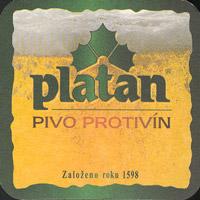 Pivní tácek platan-13