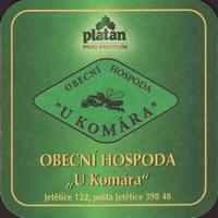 Pivní tácek platan-27-zadek-small