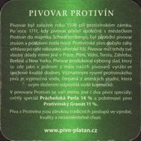 Pivní tácek platan-28-zadek-small