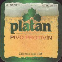 Pivní tácek platan-58-small