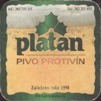 Pivní tácek platan-76-small