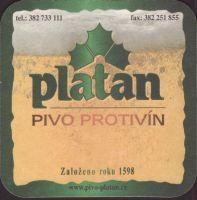 Pivní tácek platan-77-small