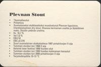 Pivní tácek plevna-2-zadek