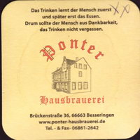 Beer coaster ponter-1-small
