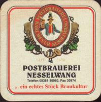 Pivní tácek post-brauerei-nesselwang-2-small