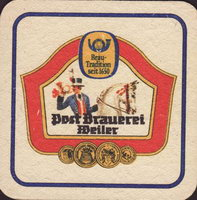 Pivní tácek post-brauerei-weiler-1-small