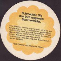 Pivní tácek post-brauerei-weiler-5-zadek-small