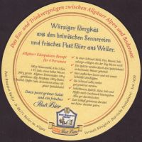 Beer coaster post-brauerei-weiler-8-small