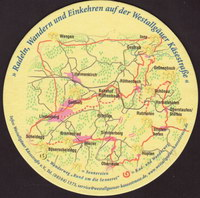 Pivní tácek post-brauerei-weiler-und-siebers-quelle-1-zadek-small