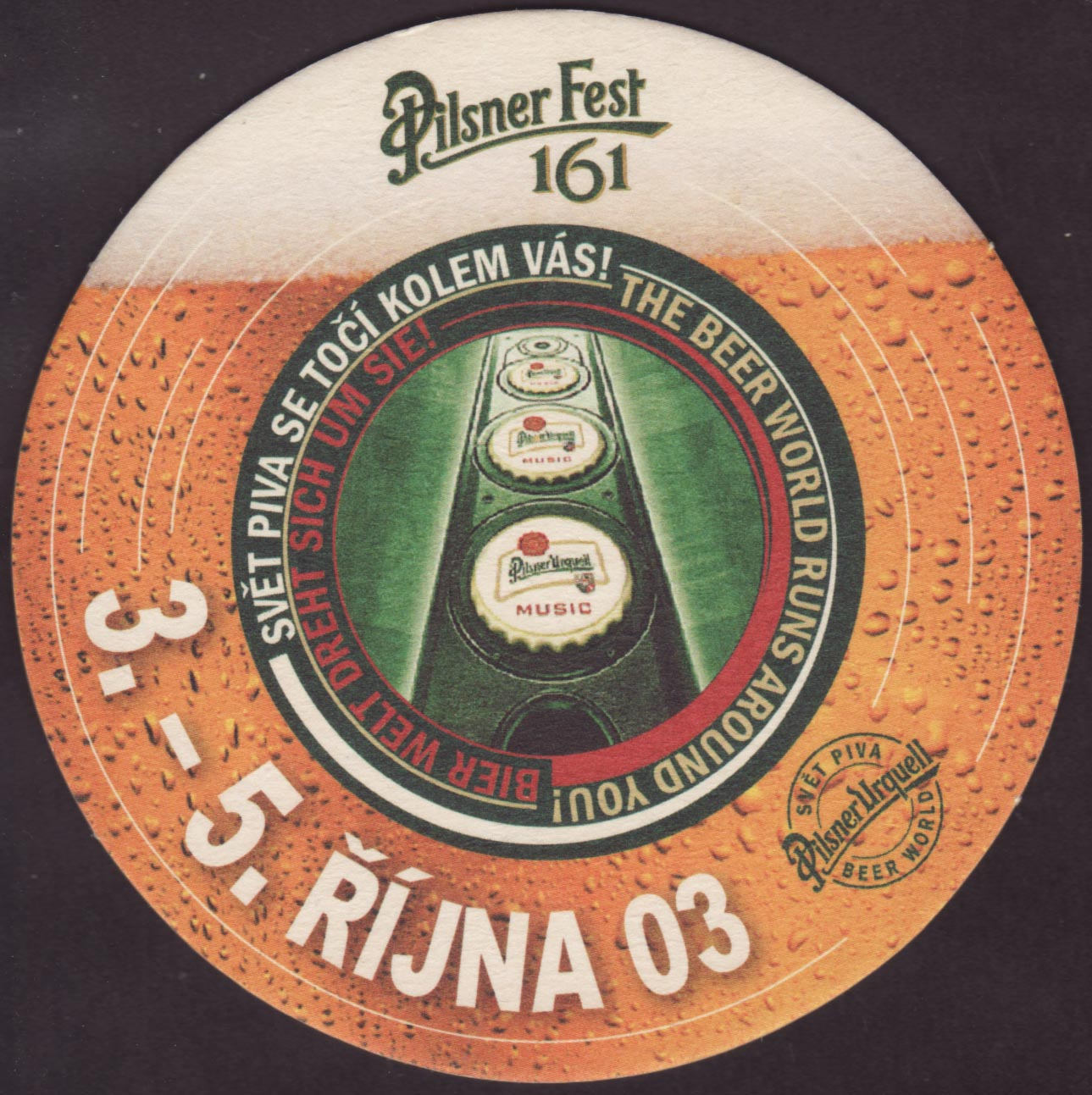 Beer coaster prazdroj-24