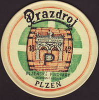Beer coaster prazdroj-326-small