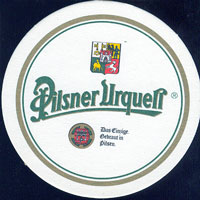 Beer coaster prazdroj-41-oboje