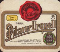 Beer coaster prazdroj-457-oboje