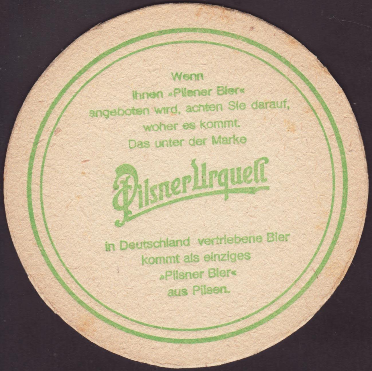 Pivní tácek prazdroj-83-zadek