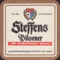 Pivní tácek privat-brauerei-steffens-12-zadek-small