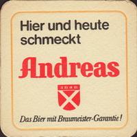 Pivní tácek privatbrauerei-c-h-andreas-2-small