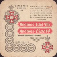 Pivní tácek privatbrauerei-c-h-andreas-8-zadek-small