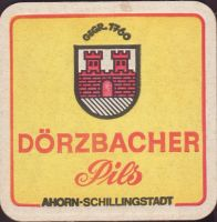 Beer coaster privatbrauerei-dorzbacher-1-oboje-small