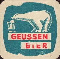 Beer coaster privatbrauerei-geussen-brau-1-small